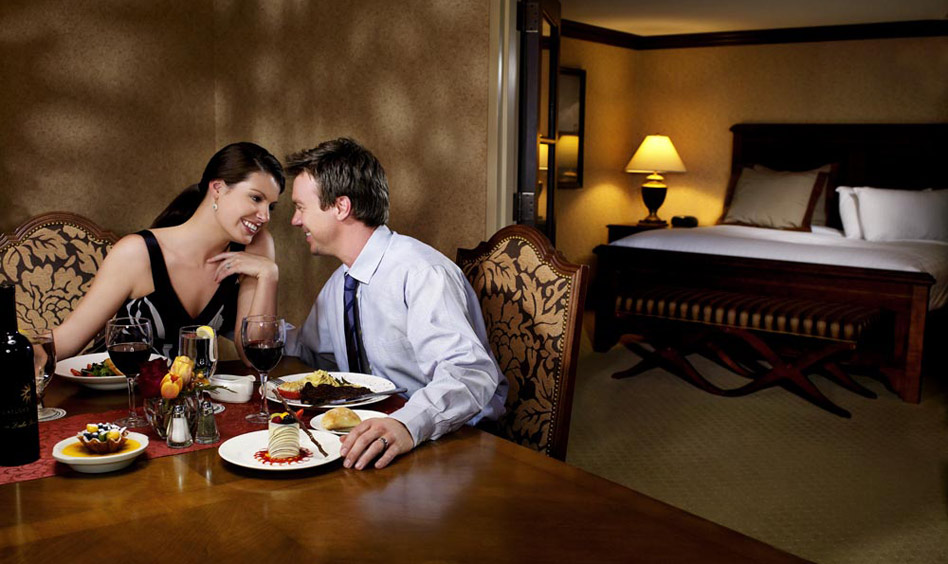 Inroom dining at Gaylord Hotels